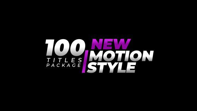 100个现代标题徽标Logo文本动画演示MP4视频模板素材 BusyBoxx – V05 Modern Titles插图70