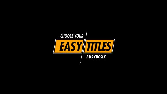 100个现代标题徽标Logo文本动画演示MP4视频模板素材 BusyBoxx – V05 Modern Titles插图72
