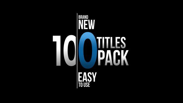 100个现代标题徽标Logo文本动画演示MP4视频模板素材 BusyBoxx – V05 Modern Titles插图76