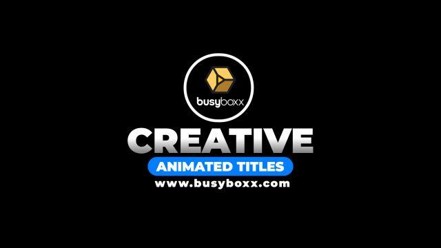 100个现代标题徽标Logo文本动画演示MP4视频模板素材 BusyBoxx – V05 Modern Titles插图92
