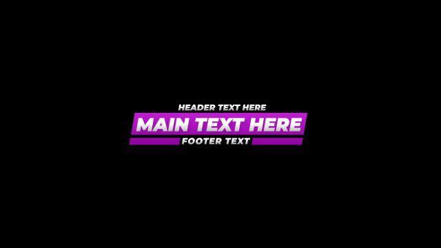 100个现代标题徽标Logo文本动画演示MP4视频模板素材 BusyBoxx – V05 Modern Titles插图