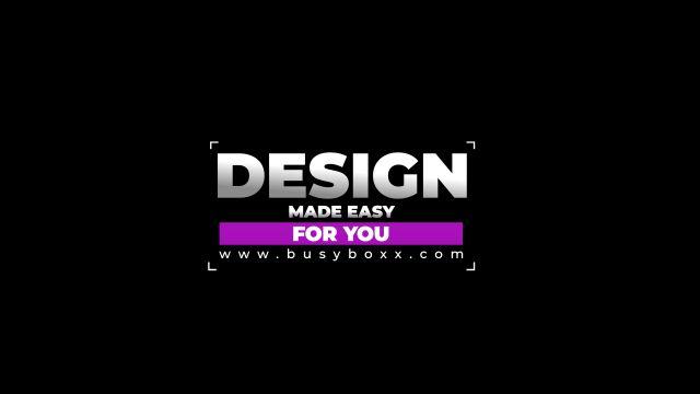 100个现代标题徽标Logo文本动画演示MP4视频模板素材 BusyBoxx – V05 Modern Titles插图5