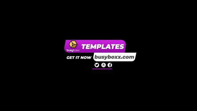 100个现代标题徽标Logo文本动画演示MP4视频模板素材 BusyBoxx – V05 Modern Titles插图10