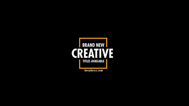 100个现代标题徽标Logo文本动画演示MP4视频模板素材 BusyBoxx – V05 Modern Titles插图28
