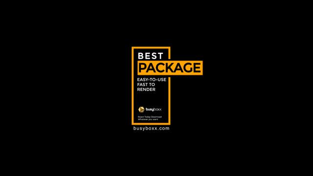 100个现代标题徽标Logo文本动画演示MP4视频模板素材 BusyBoxx – V05 Modern Titles插图32