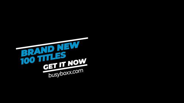 100个现代标题徽标Logo文本动画演示MP4视频模板素材 BusyBoxx – V05 Modern Titles插图39