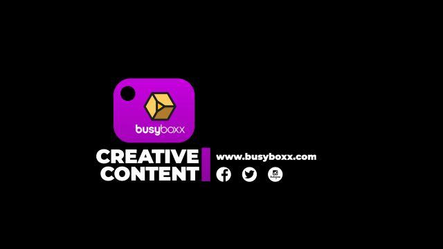 100个现代标题徽标Logo文本动画演示MP4视频模板素材 BusyBoxx – V05 Modern Titles插图44