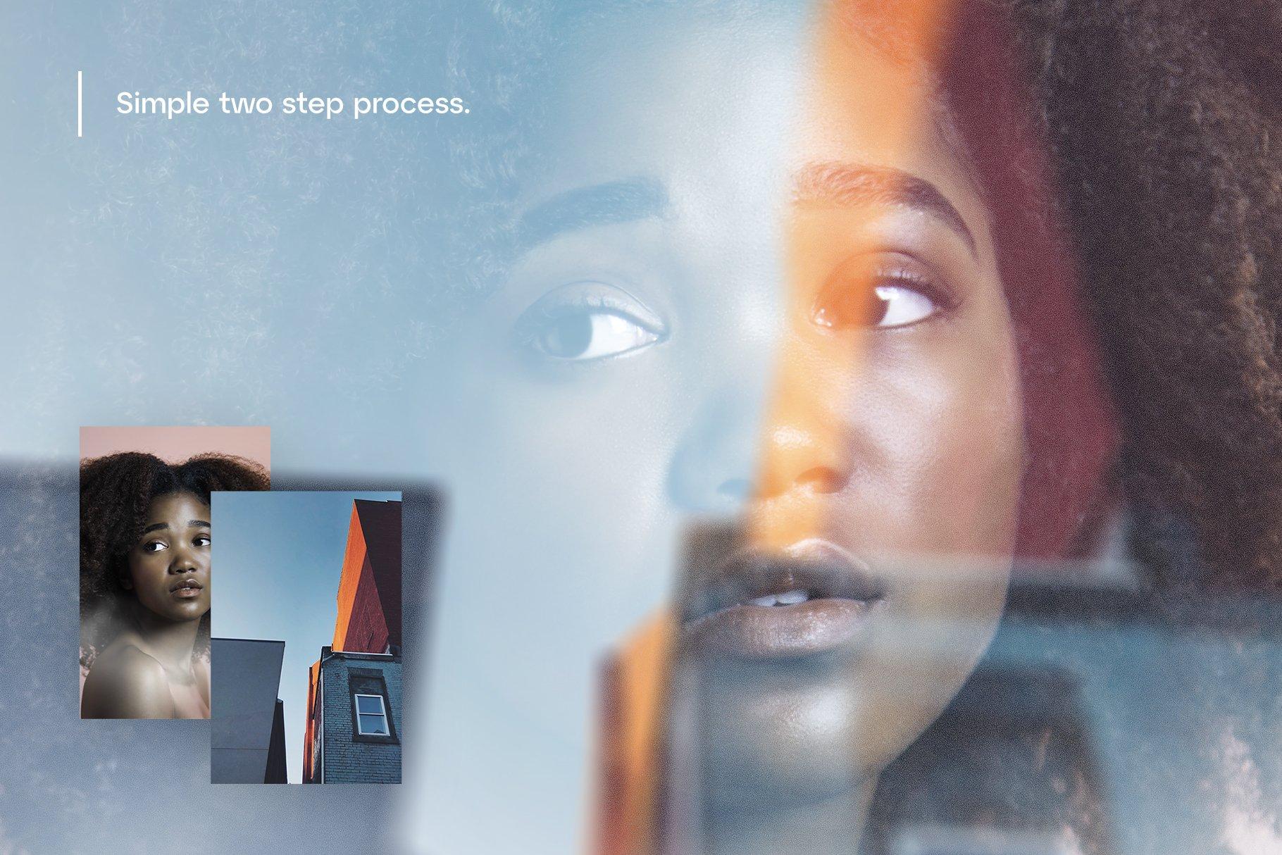 潮流模糊镜面玻璃反射效果图层叠加PS设计素材 Reflex – Custom Glass Reflection插图5