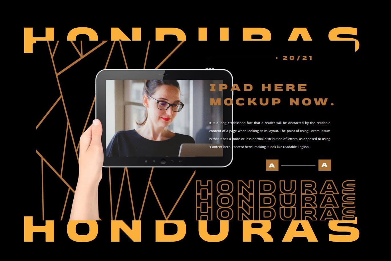 潮流撕纸效果品牌营销设计提案简报演示文稿模板素材 HONDURAS Bundle Presentation Template插图5