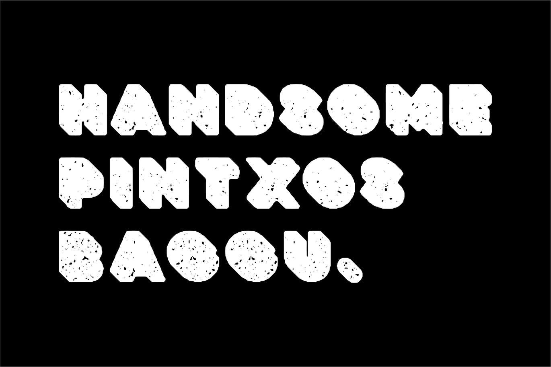 粗壮标题Logo设计无衬线英文字体下载 Deep Block – Distressed Display Font插图4