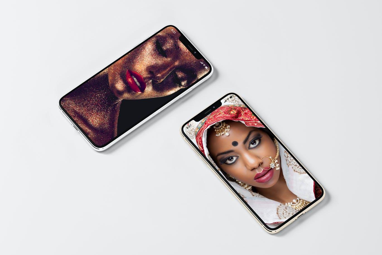 8款逼真APP界面设计iPhone 11 Pro屏幕演示样机模板 iPhone 11pro Mock-up插图5