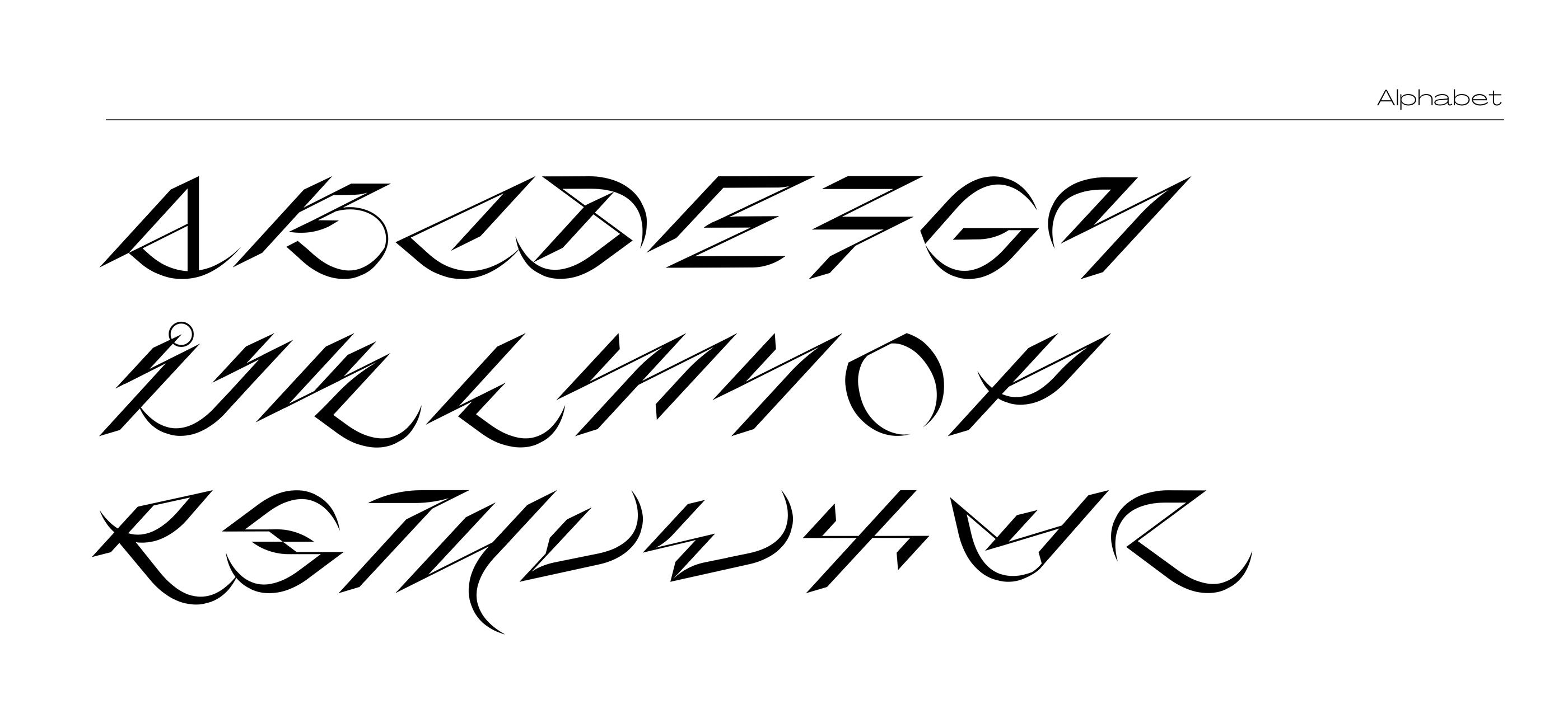 [单独购买] 潮流酸性杂志标题徽标Logo装饰英文字体设计素材 Scythe Font插图8