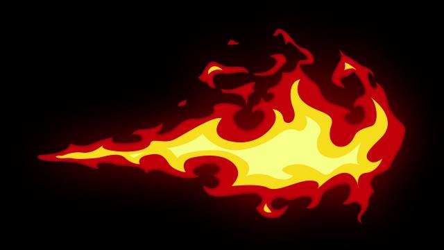 [单独购买] 150个4K高清动漫卡通火焰烟雾能量电流爆炸转场MG元素包PR+AE动画模板  BusyBoxx – V06 Comic FireFX插图70
