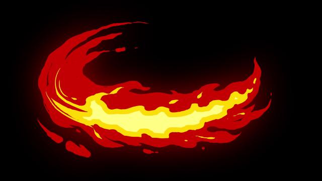 [单独购买] 150个4K高清动漫卡通火焰烟雾能量电流爆炸转场MG元素包PR+AE动画模板  BusyBoxx – V06 Comic FireFX插图75