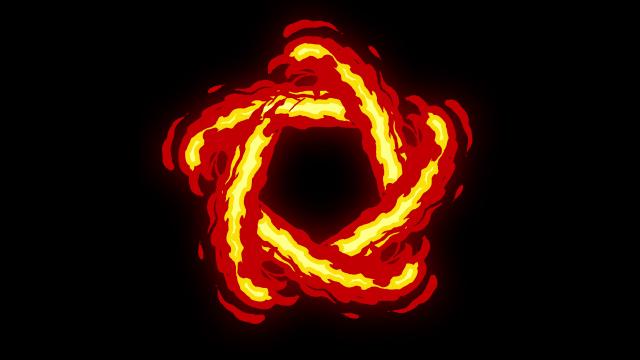 [单独购买] 150个4K高清动漫卡通火焰烟雾能量电流爆炸转场MG元素包PR+AE动画模板  BusyBoxx – V06 Comic FireFX插图82