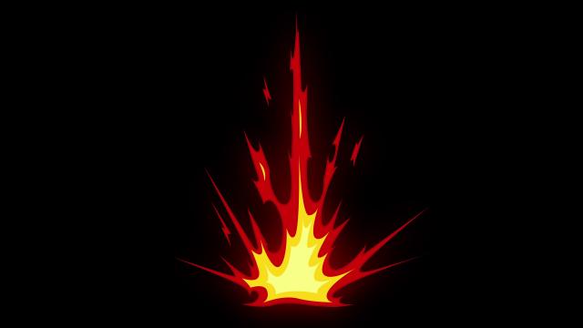 [单独购买] 150个4K高清动漫卡通火焰烟雾能量电流爆炸转场MG元素包PR+AE动画模板  BusyBoxx – V06 Comic FireFX插图88