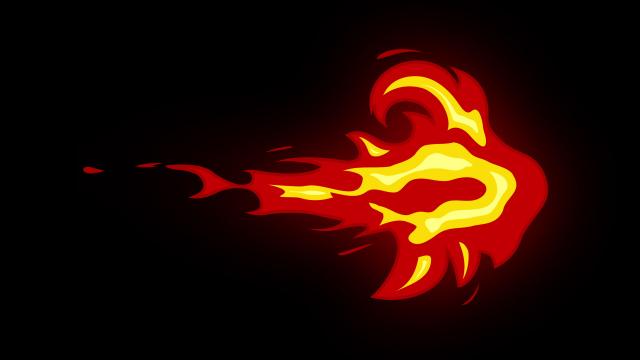 [单独购买] 150个4K高清动漫卡通火焰烟雾能量电流爆炸转场MG元素包PR+AE动画模板  BusyBoxx – V06 Comic FireFX插图89