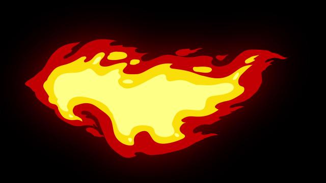 [单独购买] 150个4K高清动漫卡通火焰烟雾能量电流爆炸转场MG元素包PR+AE动画模板  BusyBoxx – V06 Comic FireFX插图91