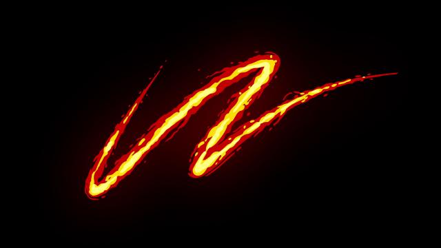 [单独购买] 150个4K高清动漫卡通火焰烟雾能量电流爆炸转场MG元素包PR+AE动画模板  BusyBoxx – V06 Comic FireFX插图94