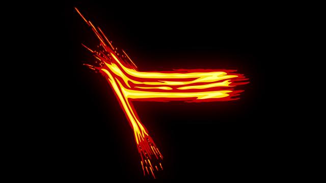 [单独购买] 150个4K高清动漫卡通火焰烟雾能量电流爆炸转场MG元素包PR+AE动画模板  BusyBoxx – V06 Comic FireFX插图97
