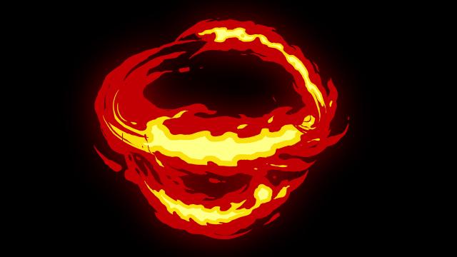 [单独购买] 150个4K高清动漫卡通火焰烟雾能量电流爆炸转场MG元素包PR+AE动画模板  BusyBoxx – V06 Comic FireFX插图113