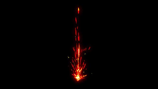 [单独购买] 150个4K高清动漫卡通火焰烟雾能量电流爆炸转场MG元素包PR+AE动画模板  BusyBoxx – V06 Comic FireFX插图114