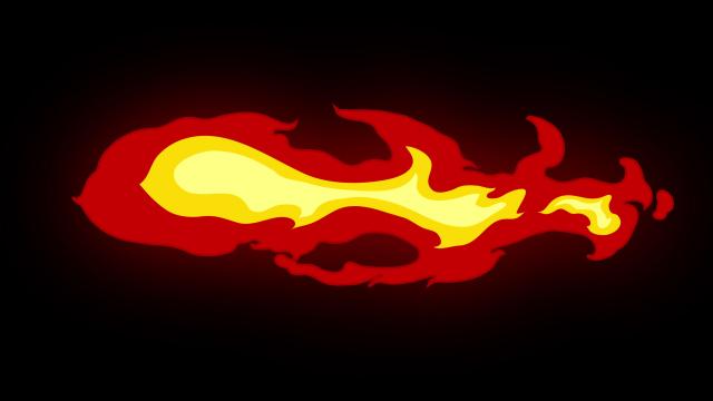 [单独购买] 150个4K高清动漫卡通火焰烟雾能量电流爆炸转场MG元素包PR+AE动画模板  BusyBoxx – V06 Comic FireFX插图124
