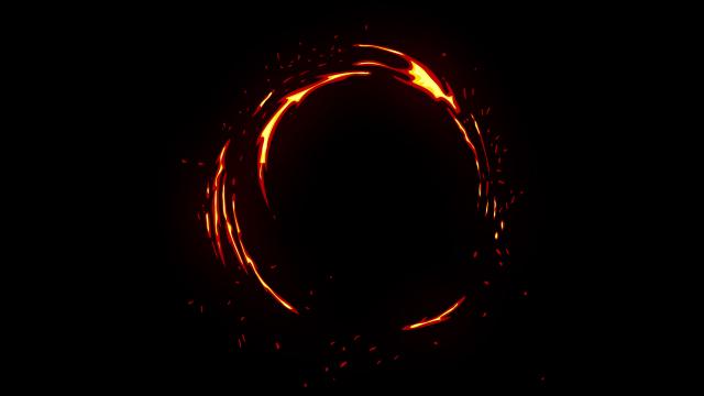 [单独购买] 150个4K高清动漫卡通火焰烟雾能量电流爆炸转场MG元素包PR+AE动画模板  BusyBoxx – V06 Comic FireFX插图134