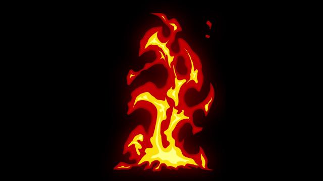 [单独购买] 150个4K高清动漫卡通火焰烟雾能量电流爆炸转场MG元素包PR+AE动画模板  BusyBoxx – V06 Comic FireFX插图148