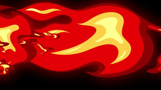[单独购买] 150个4K高清动漫卡通火焰烟雾能量电流爆炸转场MG元素包PR+AE动画模板  BusyBoxx – V06 Comic FireFX插图152