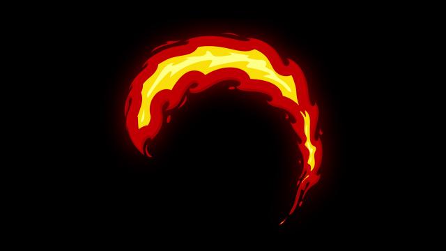 [单独购买] 150个4K高清动漫卡通火焰烟雾能量电流爆炸转场MG元素包PR+AE动画模板  BusyBoxx – V06 Comic FireFX插图2