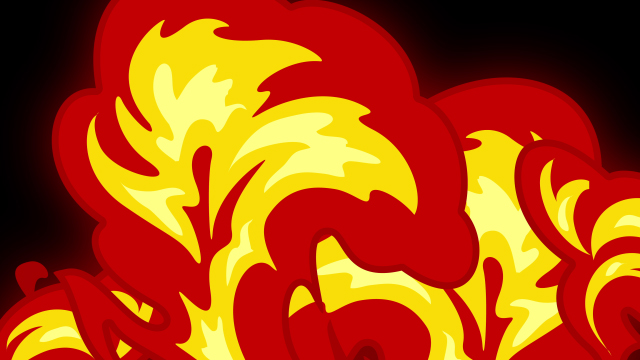 [单独购买] 150个4K高清动漫卡通火焰烟雾能量电流爆炸转场MG元素包PR+AE动画模板  BusyBoxx – V06 Comic FireFX插图3