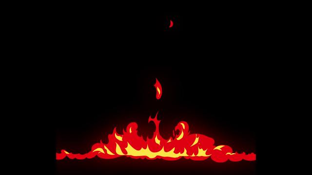 [单独购买] 150个4K高清动漫卡通火焰烟雾能量电流爆炸转场MG元素包PR+AE动画模板  BusyBoxx – V06 Comic FireFX插图7