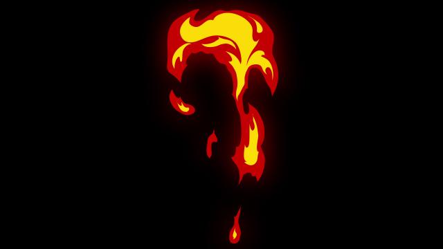 [单独购买] 150个4K高清动漫卡通火焰烟雾能量电流爆炸转场MG元素包PR+AE动画模板  BusyBoxx – V06 Comic FireFX插图10