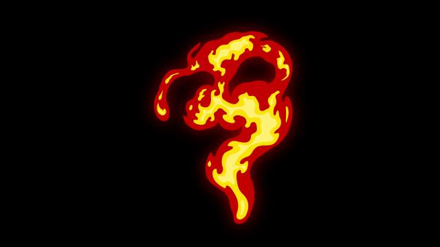 [单独购买] 150个4K高清动漫卡通火焰烟雾能量电流爆炸转场MG元素包PR+AE动画模板  BusyBoxx – V06 Comic FireFX插图37