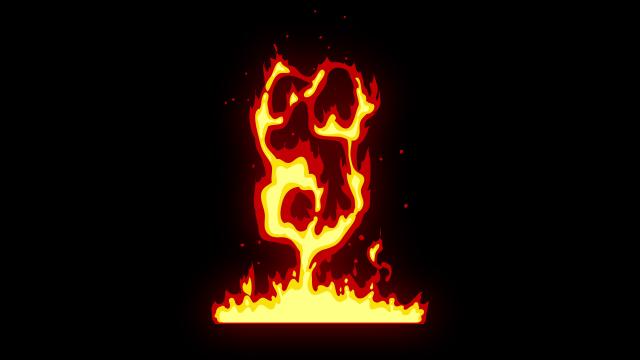 [单独购买] 150个4K高清动漫卡通火焰烟雾能量电流爆炸转场MG元素包PR+AE动画模板  BusyBoxx – V06 Comic FireFX插图43