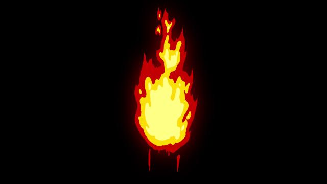[单独购买] 150个4K高清动漫卡通火焰烟雾能量电流爆炸转场MG元素包PR+AE动画模板  BusyBoxx – V06 Comic FireFX插图50