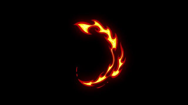 [单独购买] 150个4K高清动漫卡通火焰烟雾能量电流爆炸转场MG元素包PR+AE动画模板  BusyBoxx – V06 Comic FireFX插图54