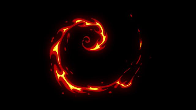 [单独购买] 150个4K高清动漫卡通火焰烟雾能量电流爆炸转场MG元素包PR+AE动画模板  BusyBoxx – V06 Comic FireFX插图62