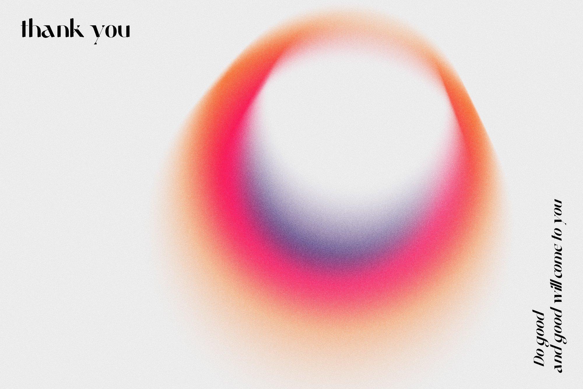 [单独购买] 潮流复古炫彩颗粒噪点模糊渐变背景纹理图形设计素材 Gradient Color Grainy Textures插图9