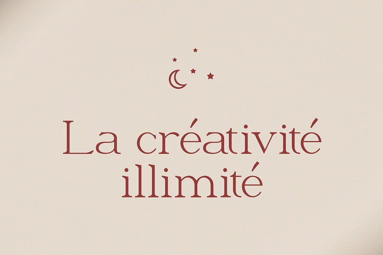 优雅轻奢现代时尚Logo杂志海报标题衬线英文字体素材 Moeda – Luxury Serif Font插图5