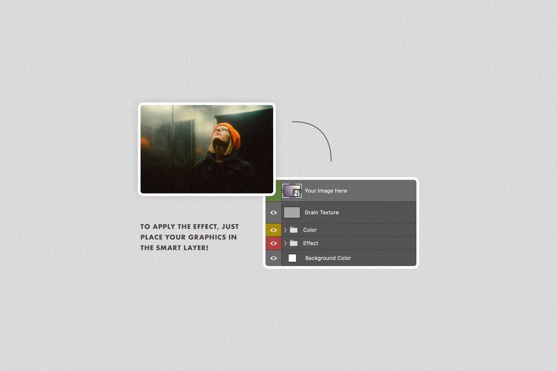 潮流分形镜照片效果图片处理特效PS样机模板素材 Fractal Mirror Photo Effect插图6