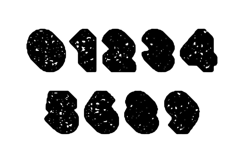 粗壮标题Logo设计无衬线英文字体下载 Deep Block – Distressed Display Font插图5
