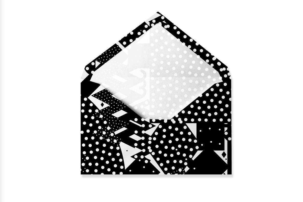 20个抽象几何拼贴矢量背景图片设计素材 Mono Contain – Background Patterns插图6
