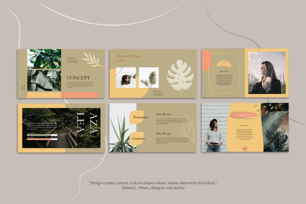 优雅简约企业摄影作品集主题演讲文稿设计Keynote 模板 Azalea – Keynote Template插图6