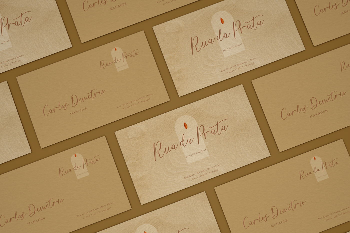 时尚优雅标题徽标Logo手写英文字体素材 Burnette Font插图6