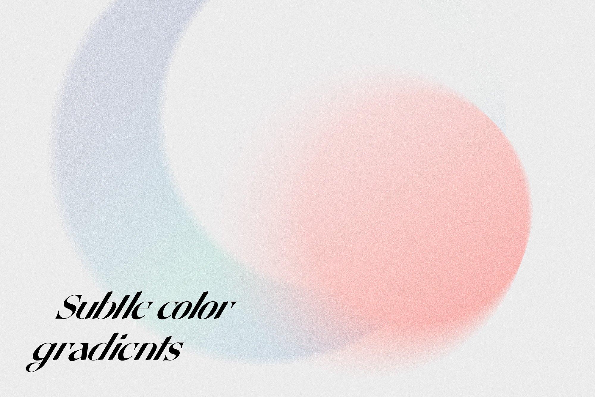 [单独购买] 潮流复古炫彩颗粒噪点模糊渐变背景纹理图形设计素材 Gradient Color Grainy Textures插图6