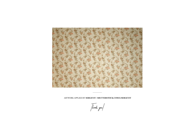 仿古室内帆布绘画艺术品打印展示样机模板 Antique Interior Canvas Print Mockup插图6