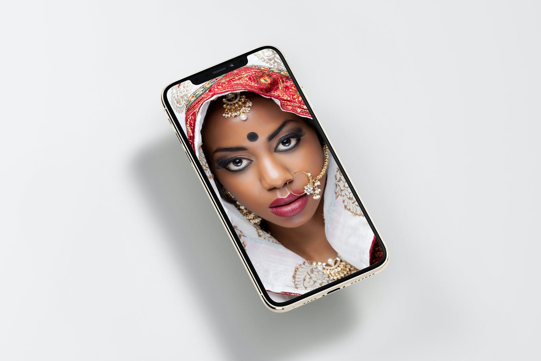 8款逼真APP界面设计iPhone 11 Pro屏幕演示样机模板 iPhone 11pro Mock-up插图7