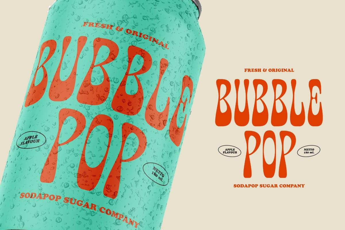 有趣卡通海报品牌包装标题Logo粗体英文字体素材 Fuente Wonkids Bold & Chunky插图7